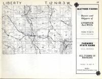Liberty, Kickapoo T12N-R3W, Vernon County 1960